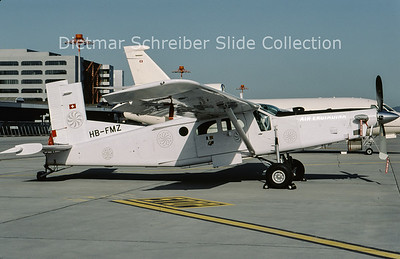 2009-06 HB-FMZ Pilatus PC6/B2-H4 Turbo Porter (c/n 956) Air Engiadina