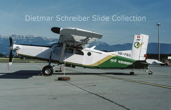 2009-05 HB-FNG  Pilatus PC6/B2-H4 Turbo Porter (c/n 962) Yeti Airways