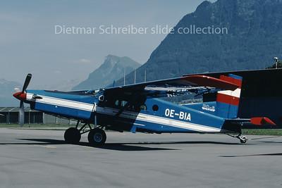 2000-08-23 OE-BIA Pilatus PC6 Austrian Police