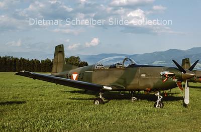 2000-06 3H-FJ Pilatus PC7 Turbo Trainer (c/n 448) Austrian Air Force
