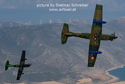 2021-09-02 3H-FG / 3H-FO Pilatus PC7 Austrian Air Force