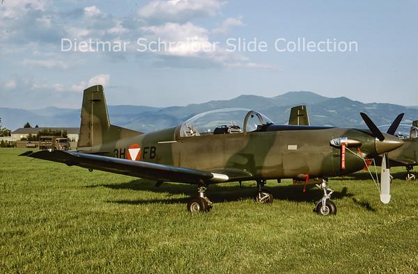 2000-06 3H-FB Pilatus PC7 Turbo Trainer (c/n 413) Austrian Air Force