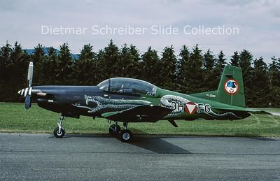 2003-06 3H-FG Pilatus PC7 Turbo Trainer (c/n 445) Austrian Air Force