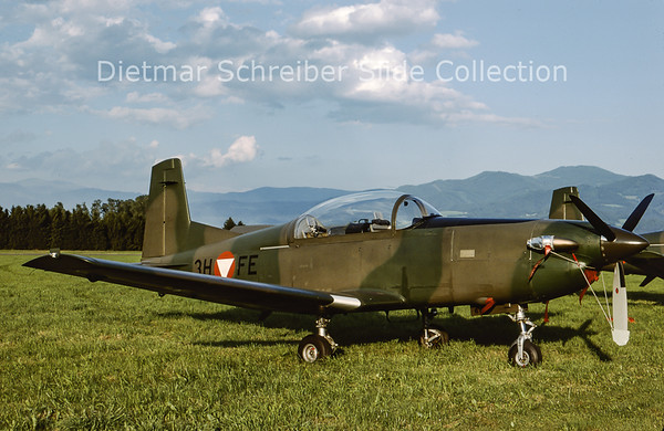 2000-06 3H-FE Pilatus PC7 Turbo Trainer (c/n 416) Austrian Air Force