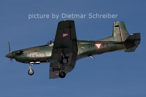 2021-01-20 3H-FE Pilatus PC7 Austrian Air Force