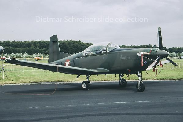 3H-FN Pilatus PC7 Austrian Air Force
