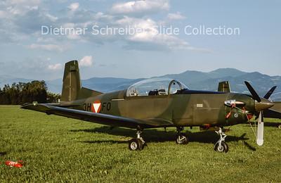 2000-06 3H-FO Pilatus PC7 Turbo Trainer (c/n 486) Austrian Air Force