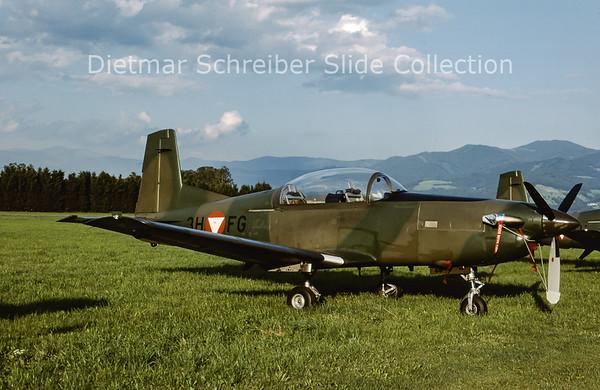 2000-06 3H-FG Pilatus PC7 Turbo Trainer (c/n 445) Austrian Air Force