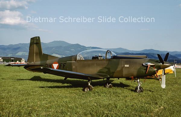 2000-06 3H-FF Pilatus PC7 Turbo Trainer (c/n 417) Austrian Air Force
