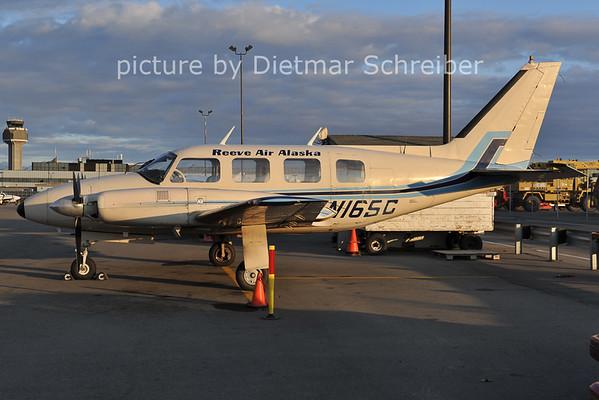 2012-05-14 N16SC Piper 31 Navajo Reeve Air Alaska