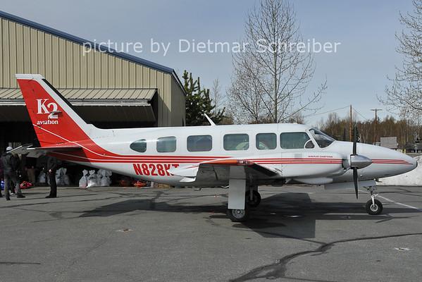 2012-05-13N828KT Piper 31 K2 Aviation