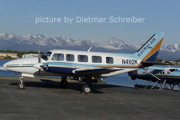 2020-05-30 N492K Piper 31 Katmai Air