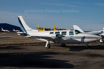 2007-04-28 C-FJCF Piper Aerostar Air Spray