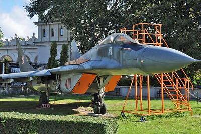 "MiG-29G Fulcrum-A ""4111 Red"""