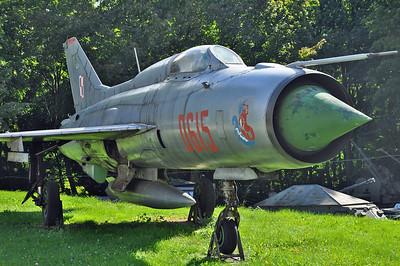 """MiG-21PF Fishbed-D """"0615"""""""