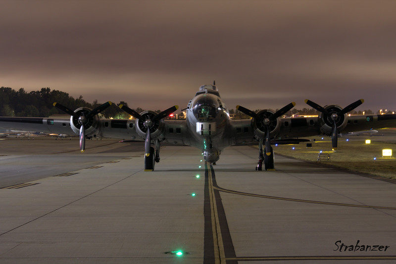 B-17G-VE, c/n 44-85740  Painted as 