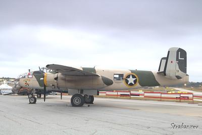 "North American B-25J Mitchell c/n 108-47451 44-86697 ""Killer B""  N62163 Sunrise Shoot KPDK, DeKalb, GA,   10/07/2017 This work is licensed under a Creative Commons Attribution- NonCommercial 4.0 International License"