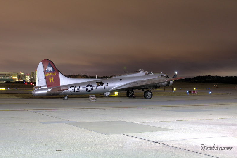 B-17G-VE, c/n 44-85740  Painted as  398th Bomb Group's 42-102516 Pre-Dawn Shoot KPDK, DeKalb, GA,   10/07/2017 This work is licensed under a Creative Commons Attribution- NonCommercial 4.0 International License