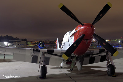 P-51D Mustang c/n 122-40383 Ser 44-73843  NL10601 Pre-Dawn Shoot KPDK, DeKalb, GA,   10/07/2017 This work is licensed under a Creative Commons Attribution- NonCommercial 4.0 International License