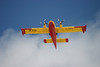 Tanker 270 overhead the Dryden Airport.