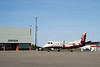 Bearsking Airlines comes to Dryden for the first time in a SAAB 340 sporting Bearskin colours.