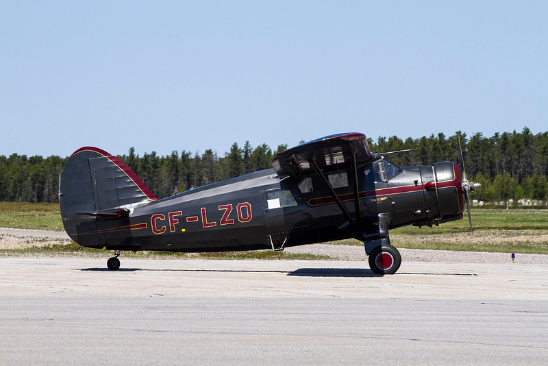 A 1944 Noorduyn UC64A-ND Norseman (c/n 535) on the Dryden ramp.