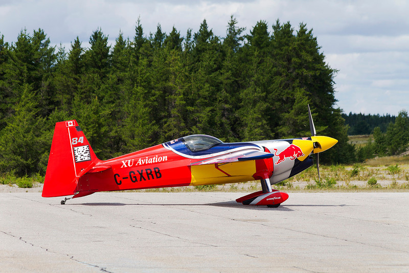 A ZIVKOEDGE 540 (S/N: 0025) came into Dryden for some fuel.