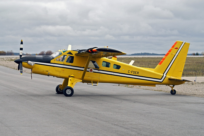A Dehavilland DHC-2 MK. III on wheels. Usually this aircraft is on floats but they where removed for a trip to Vancouver Island.