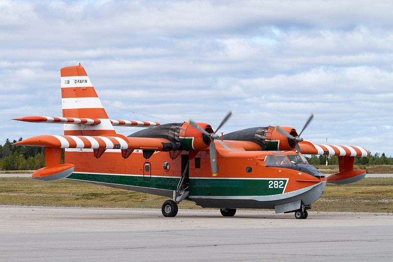 Buffalo Airways Ltd was in town briefly in this CL215.