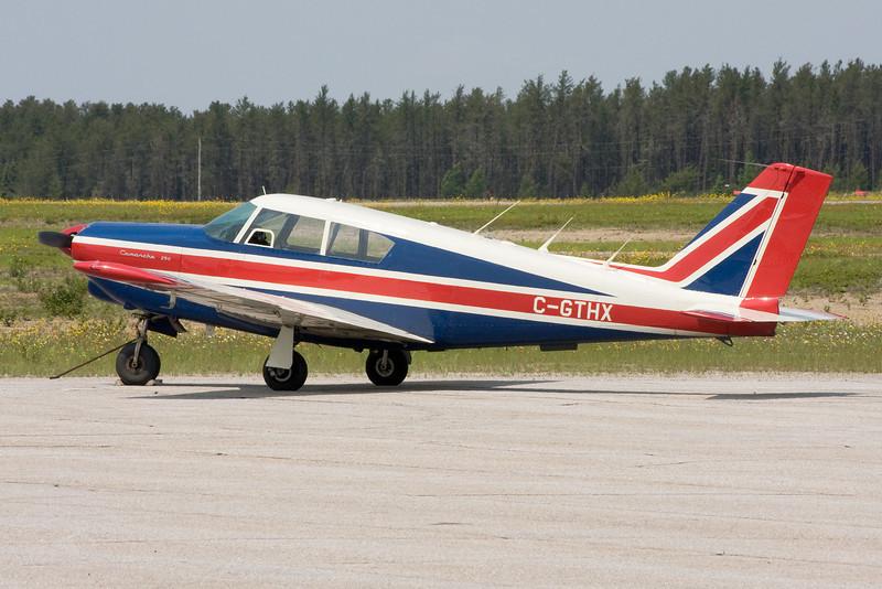 A Piper PA-24-250 Comanche.