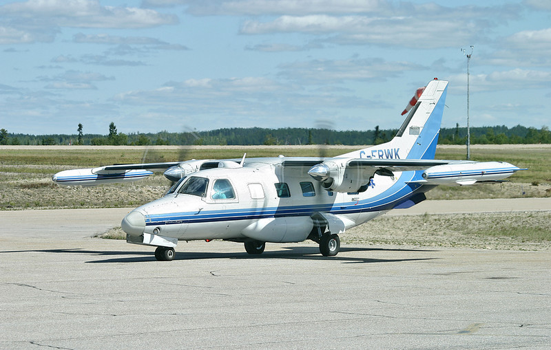 A Mitsubishi MU-2B-60 owened byThunder Airlines and used for medivac flights.