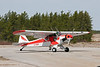 "This Super Cub, owned and operated by General Airpsray, comes to Dryden every spring for aerial spraying (seeding).  Here is a <a href=""http://www.djkennedy.com/gallery/2047230_jSZxE#262260589_hRq5M-XL-LB"">link</a> to a 1024x683 photo of the instrument panel from this aircraft."