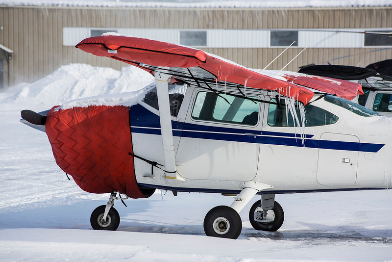 70 of 365 (Icing)<br /> <br /> This Cessna 182P appears to be in dire need of de-icing.