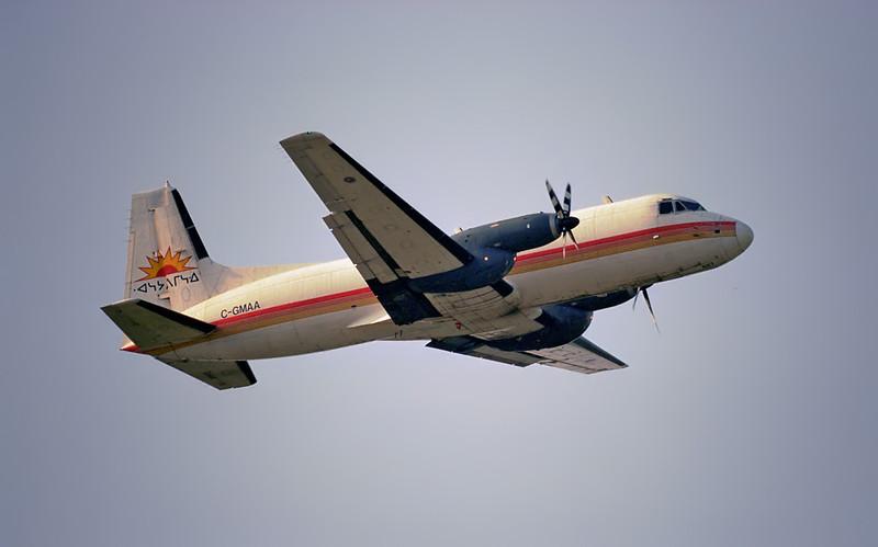 A Wasaya Airways Ltd Hawker Siddeley HS 748 SERIES 2A.