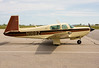 This Mooney M20K came to Dryden for fuel and customs. <br /> <br /> This aircraft has also been modified by 'The Mod Squad' for the current owners, and has 'Special Edition Thunderbird 261' painted on the side, along with a plate indicating who it was modified for.
