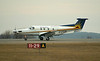 A Wasaya Airways Pilatus PC-12/45 lands in Dryden to pick four passengers for Hamilton, Ontario.