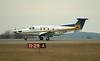 A Wasaya Airways Pilatus PC-12/45 lands in Dryden to pick four passengers for Hamilton, Ontario.
