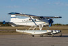 On the tail of this DehavillandDHC-2, you can see the old American registration. Here she is sitting on the Dryden ramp.<br /> <br /> According to the information I found on the US Registration web site, this Beaver DHC-2 MK.1 was manufactured in 1951 and has the serial number of 151.
