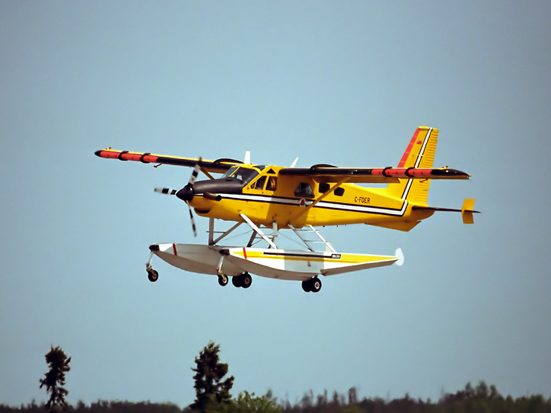 Dehavilland DHC-2 MK. III Turbo Beaver owned/operated by the Ontario MNR.