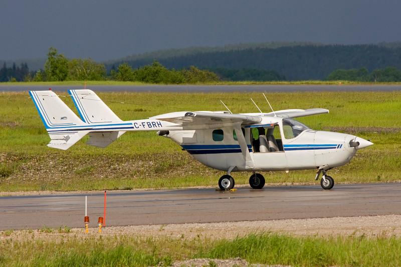 C-FBRH, a Cessna 337G, of Hicks & Lawrence Limited (Dryden).