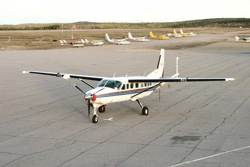 Another view of the Caravan owned by Fugro Aviation Canada Limited