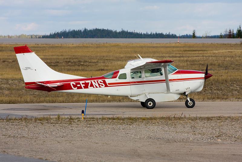 A locally owned Cessna U206D.