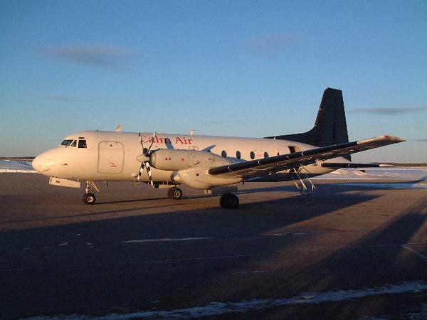 A Calm Air Convair 580.