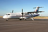 West Wind Aviation comes to Dryden in a Aerospatiale ATR 42-300.