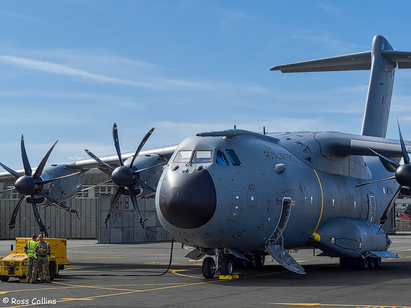 RAF Airbus A400M at Wellington, 23 February 2017