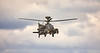 Apache Helicopter out on Exercise from Leuchars - 18 September 2018