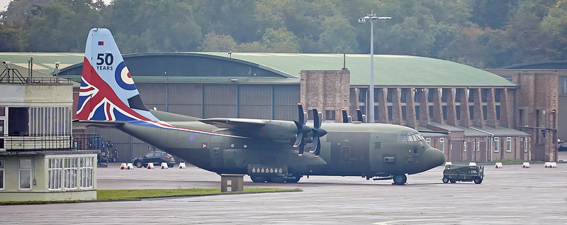 RAF Lockheed Martin Hercules C.5 (ZH883) at Leuchars - 18 September 2018