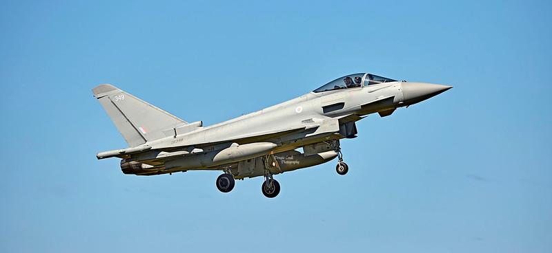 Royal Air Force Eurofighter Typhoon FGR.4 (ZK349) at RAF Lossiemouth - 4 July 2018