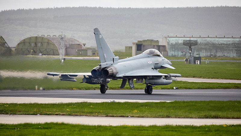 Eurofighter Typhoon FGR4 (ZK320) RAF Lossiemouth - 11 May 2018