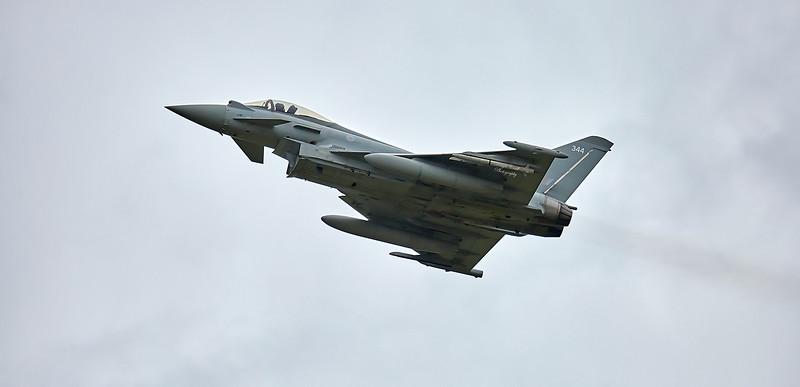Typhoon FGR4 (ZK344) at RAF Lossiemouth - 9 May 2018
